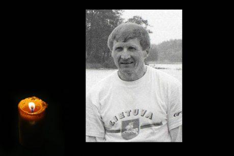 Netektis Lietuvos sporte: Mirė legendinis irkluotojas A. Čikotas