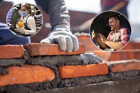 Situacija darbo rinkoje: kauniečiai nenori dirbti vairuotojais, statybininkais, pardavėjais?