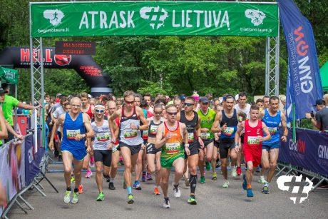 Lietuvos bėgimo taurė: greičiausiai bėgo patyrę atletai