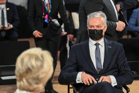"""G. Nausėda ES lyderiams perdavė """"Černobylio"""" kopijas – įspėjo apie Astravo pavojų"""