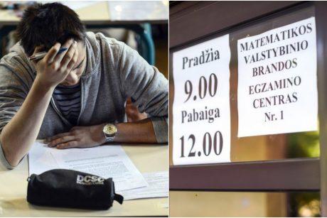 Brandos egzaminų rezultatai: geriausiai mokėjo anglų kalbą, prasčiausiai – matematiką