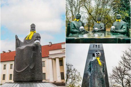 """Vilniaus skulptūros, lydėdamos """"The Roop"""" į Roterdamą, jau pasiruošė diskotekai"""