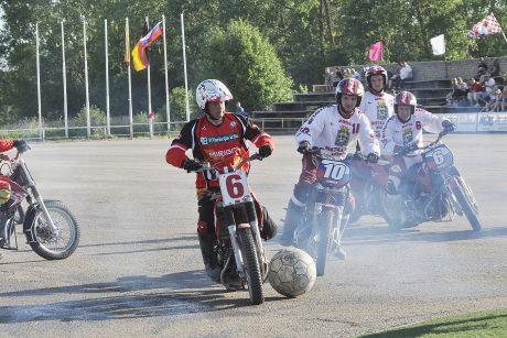 Kretingoje – tarptautinis motobolo renginys