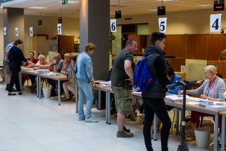 Iš anksto jau balsavo 9,56 proc. rinkėjų