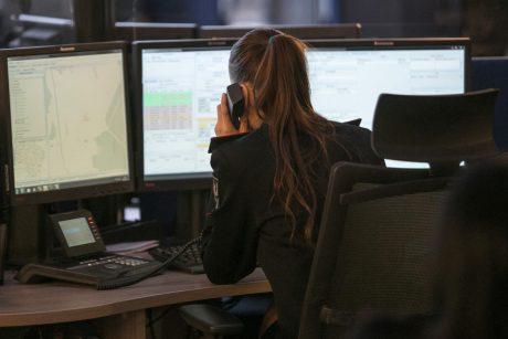 Bendrajame pagalbos centre nustatyta neblaivi operatorė