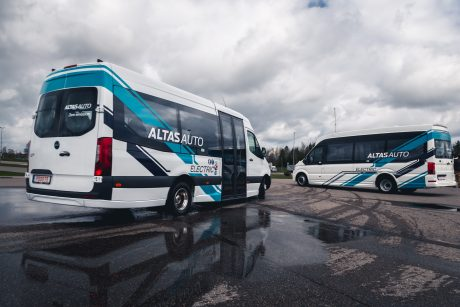 Naujos kartos autobusai – su išmaniuoju bagažu