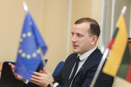 V. Sinkevičius: džiaugtis Lietuvos ekonomikos atsparumu dar anksti