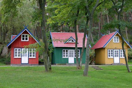 Kaip dažyti medinį namą – ekspertai pristato septynis darbų etapus
