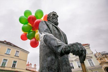 Vilnius švenčia J. Basanavičiaus gimtadienį