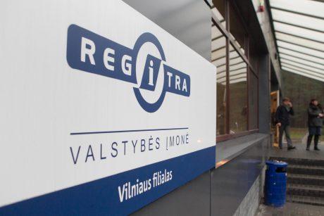 """""""Regitra"""": pirmadienį Vilniuje aptarnauti visi vairuotojai"""