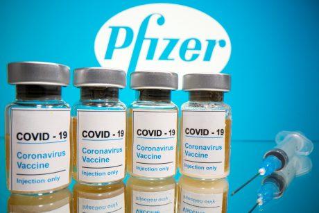 """""""Pfizer"""" ir """"BioNTech"""" prašo ES leisti jų vakcina nuo COVID-19 skiepyti 5–11 metų vaikus"""