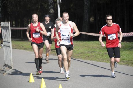 bėgimas dėl hipertenzijos