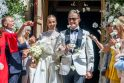Vilniuje susituokė socialinių tinklų žvaigždė V. Siegel ir verslininkas L. Suodaitis