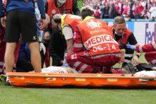 Danijos futbolo rinktinės gydytojas atskleidė, kaip vyko Ch. Erikseno gaivinimas
