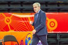 Po pralaimėjimo Kazachstanui – viltingas žvilgsnis į paskutines rungtynes