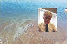 A. Latakas: su vandeniu surinkta apie 100 kubų teršalų, jūroje jų nėra <span style=color:red;>(papildyta)</span>