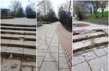 Nuo pareigūnų – pėsčiųjų takais <span style=color:red;>(vaizdo įrašas)</span>