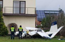 Kauno rajone nukrito lėktuvas: žuvo žinomas pilotas ir mokinys <span style=color:red;>(papildyta)</span>