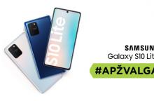 """""""Samsung Galaxy S10 Lite"""" – beveik flagmanas? <span style=color:red;>(apžvalga)</span>"""