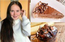 J. Vyšniauskienei aistrą sveikam gyvenimo būdui įskiepijo mylimasis <span style=color:red;>(desertų receptai)</span>