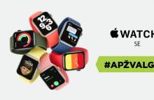 """""""Apple Watch SE"""" – pigesnis, bet ne prastesnis išmanusis laikrodis <span style=color:red;>(apžvalga)</span>"""