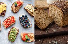 Mitybos ekspertas: kvietinė sumuštinių duona – išteisinti ar nuteisti? <span style=color:red;>(receptai)</span>