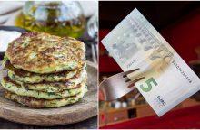 Vakarienė keturiems už 3, 4, 5 eurus: misija – įmanoma <span style=color:red;>(receptai)</span>