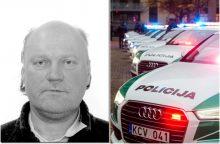 Šiaulių policija ieško arešto bausme nuteisto vyro <span style=color:red;>(gal matėte?)</span>