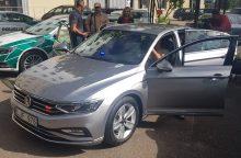 Kaune pristatomas naujasis nežymėtas policijos automobilis <span style=color:red;>(vaizdo įrašas)</span>