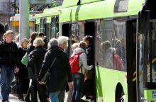 Vilniuje ir Kaune – nemokamas viešasis transportas <span style=color:red;>(atnaujinta)</span>
